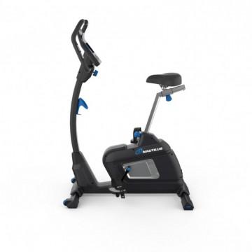 Poza Bicicleta fitness NAUTILUS U627, Greutate utilizator 150 Kg, Ergometru, 16 programe antrenament, Port USB, Scaun reglabil, Suport sticla