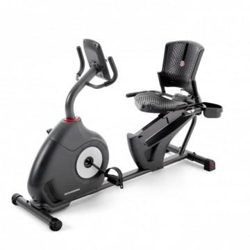 Bicicleta orizontala exercitii SCHWINN 510R, Greutate utilizator 136 Kg, Bluetooth, Scaun reglabil, Roti transport