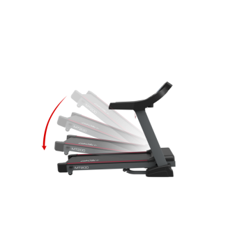 Banda de alergare TECHFIT MT200, Putere Maxima 5CP, Greutate utilizator: 150KG, Suprafata de alergare 130 x 48cm. Poza 2