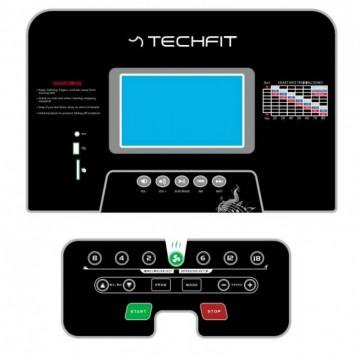 Banda de alergare TECHFIT MT200, Putere Maxima 5CP, Greutate utilizator: 150KG, Suprafata de alergare 130 x 48cm. Poza 8
